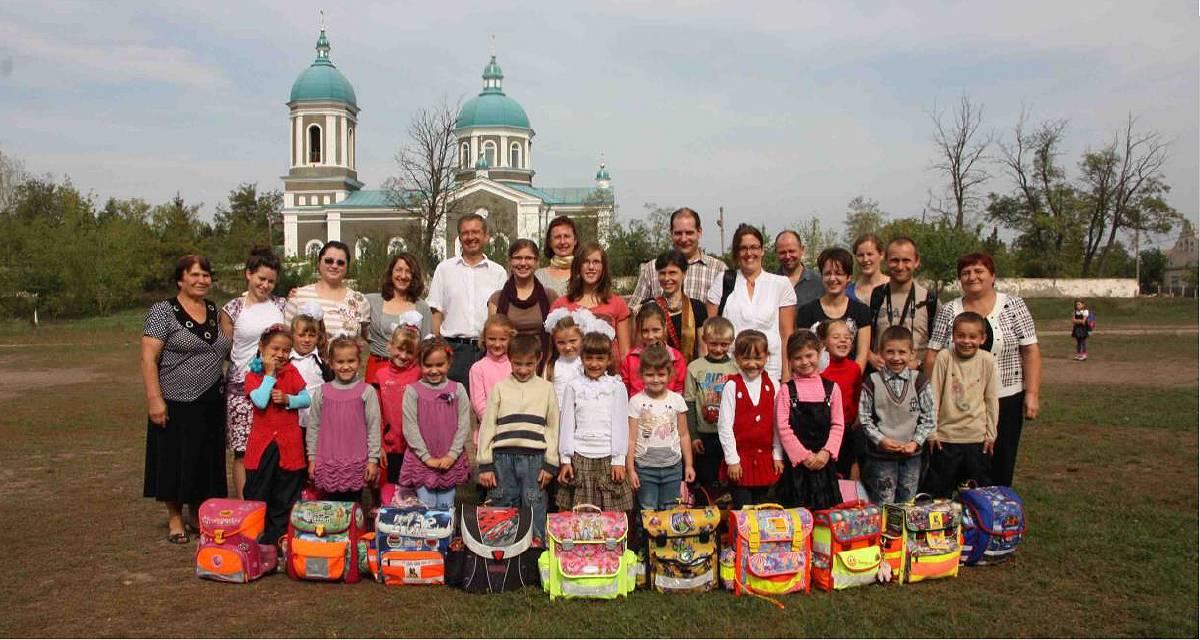Schulranzen für Moldawien